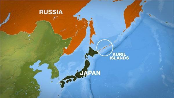 رزمایش نظامی روسیه در جزیره های مورد ادعای ژاپن